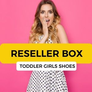 NWT Toddler Girls Shoes Reseller Box